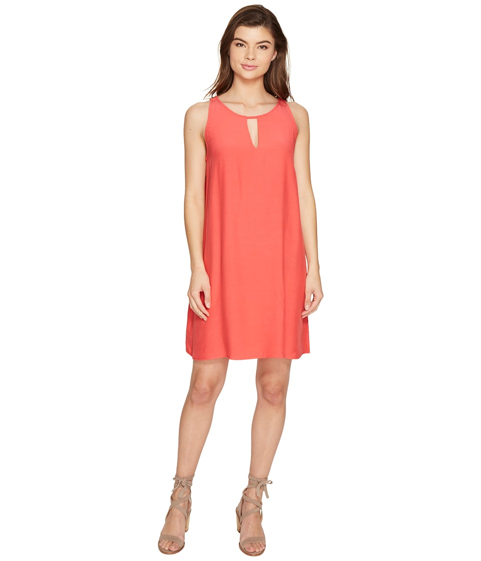 BB Dakota - Phoede Keyhole Shift Dress (Glow) Women's Dress