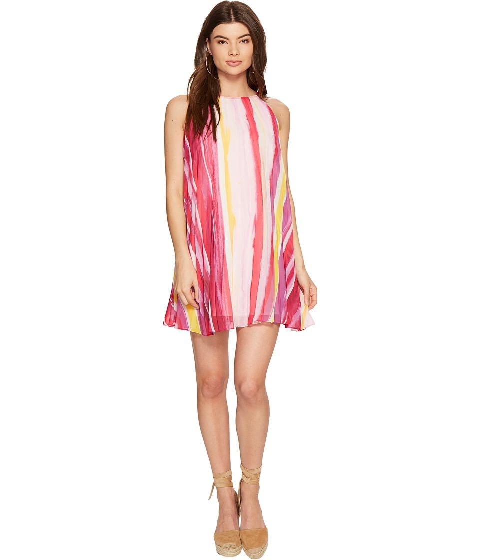BB Dakota - Summerlyn Pleated Dress (Glow) Women's Dress