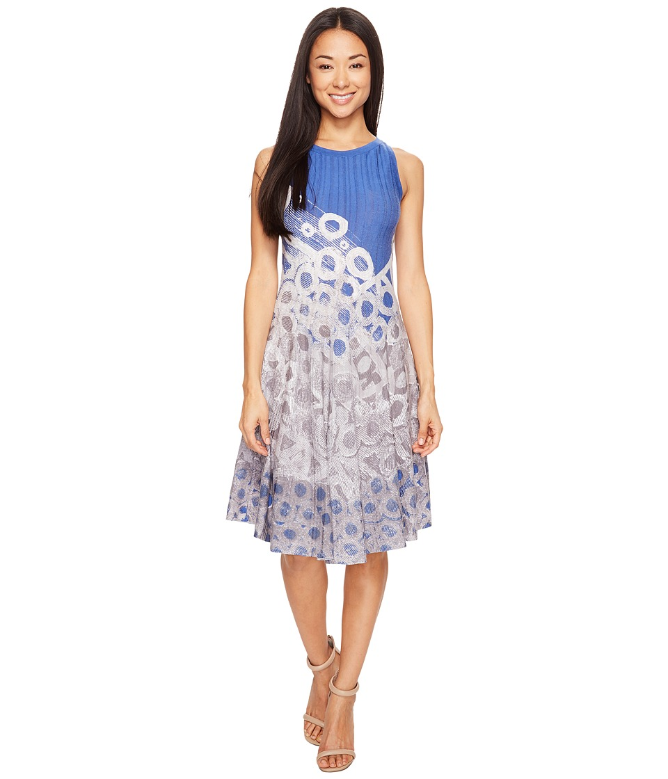 NIC+ZOE - Rain Drops Twirl Dress (Multi) Women's Dress