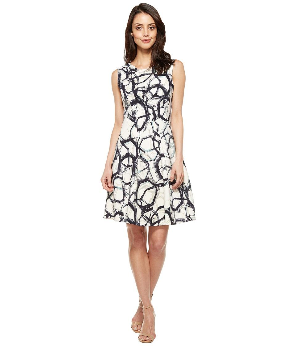 NIC+ZOE - Neptune Scuba Dress (Multi) Women's Dress