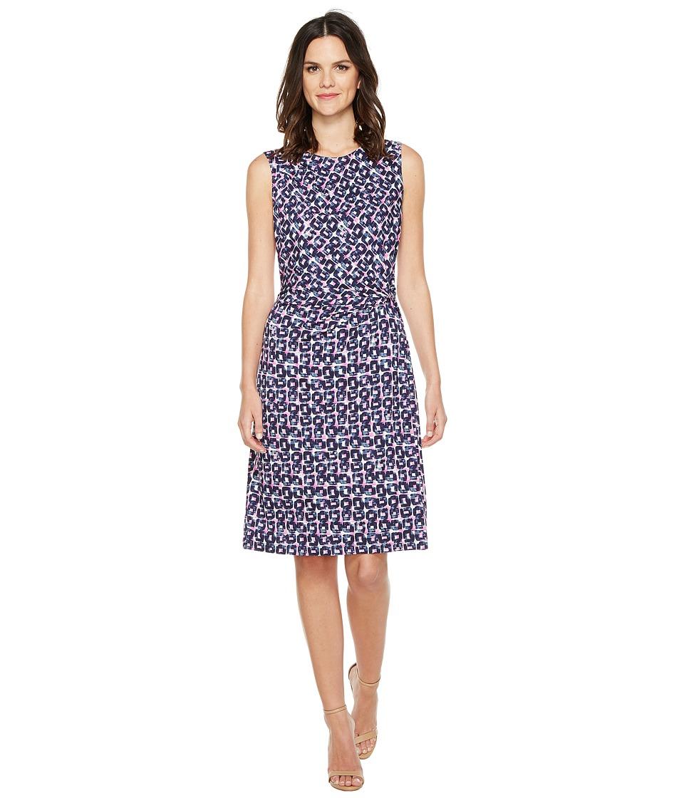 NIC+ZOE Groundwork Twist Dress (Multi) Women