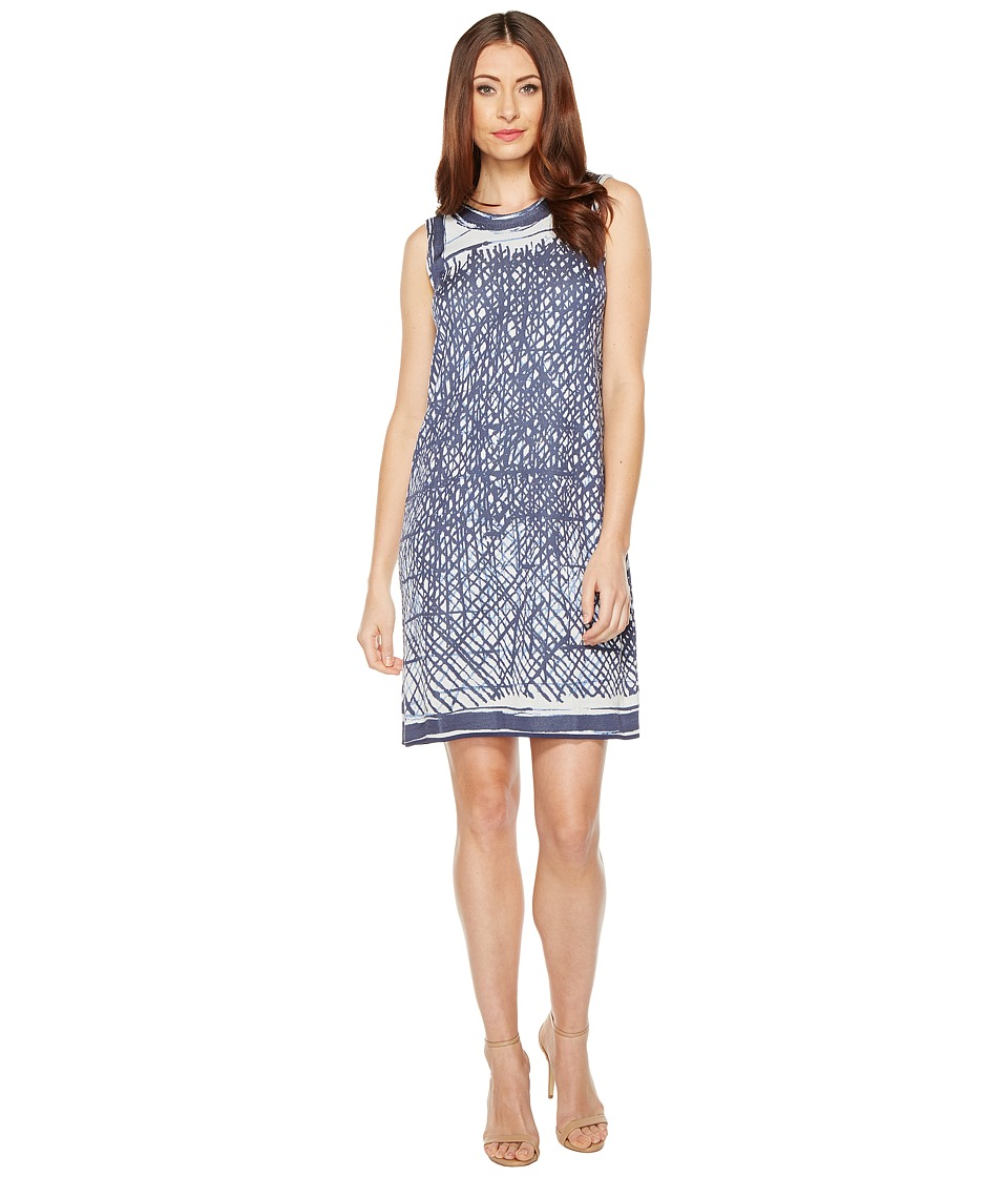NIC+ZOE - Blue Crush Dress (Multi) Women's Dress