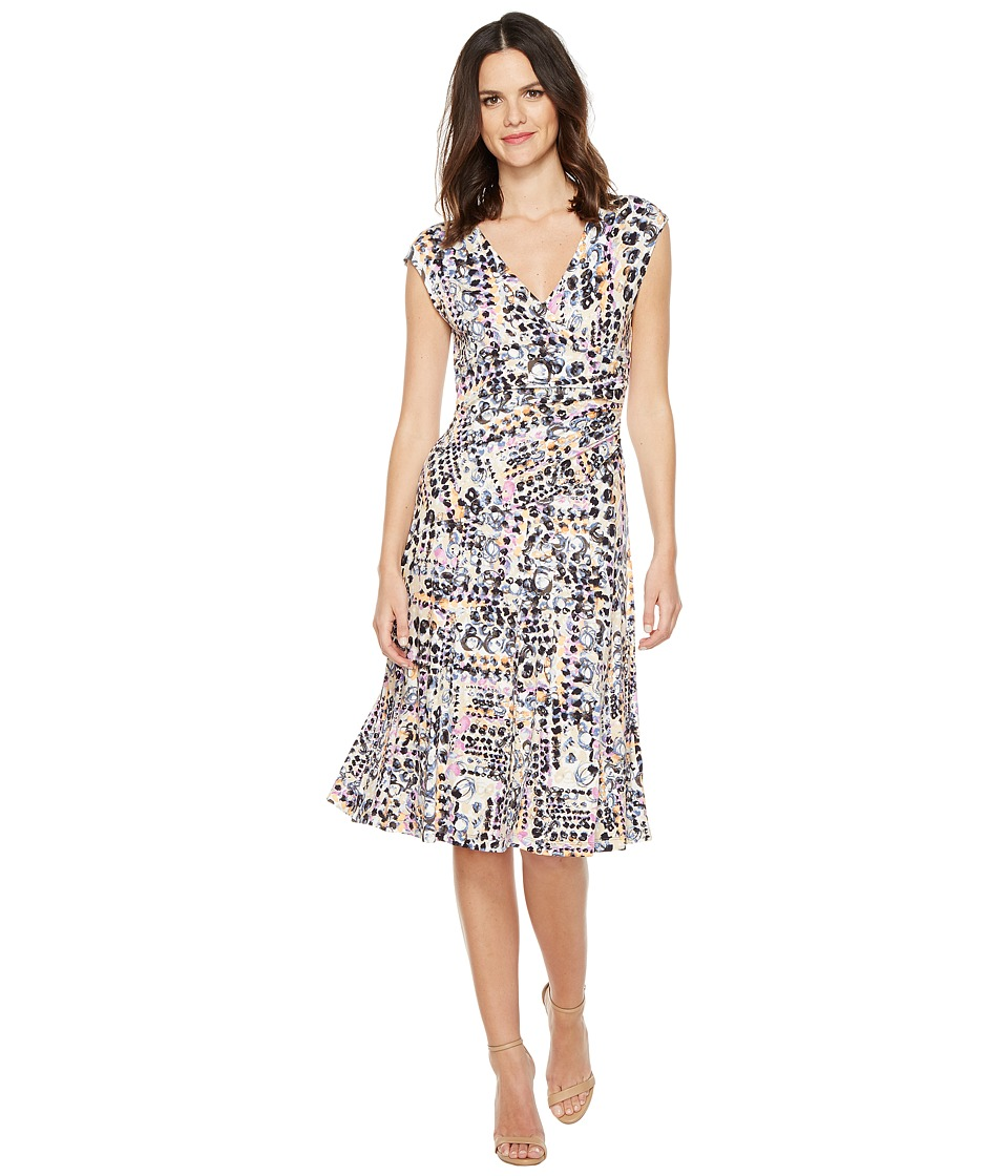 NIC+ZOE - Bright Lights Wrap Dress (Multi) Women's Dress