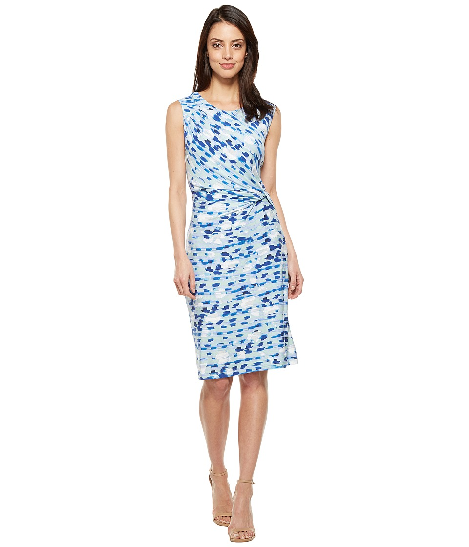 NIC+ZOE - Water Lane Twist Dress (Multi) Women's Dress