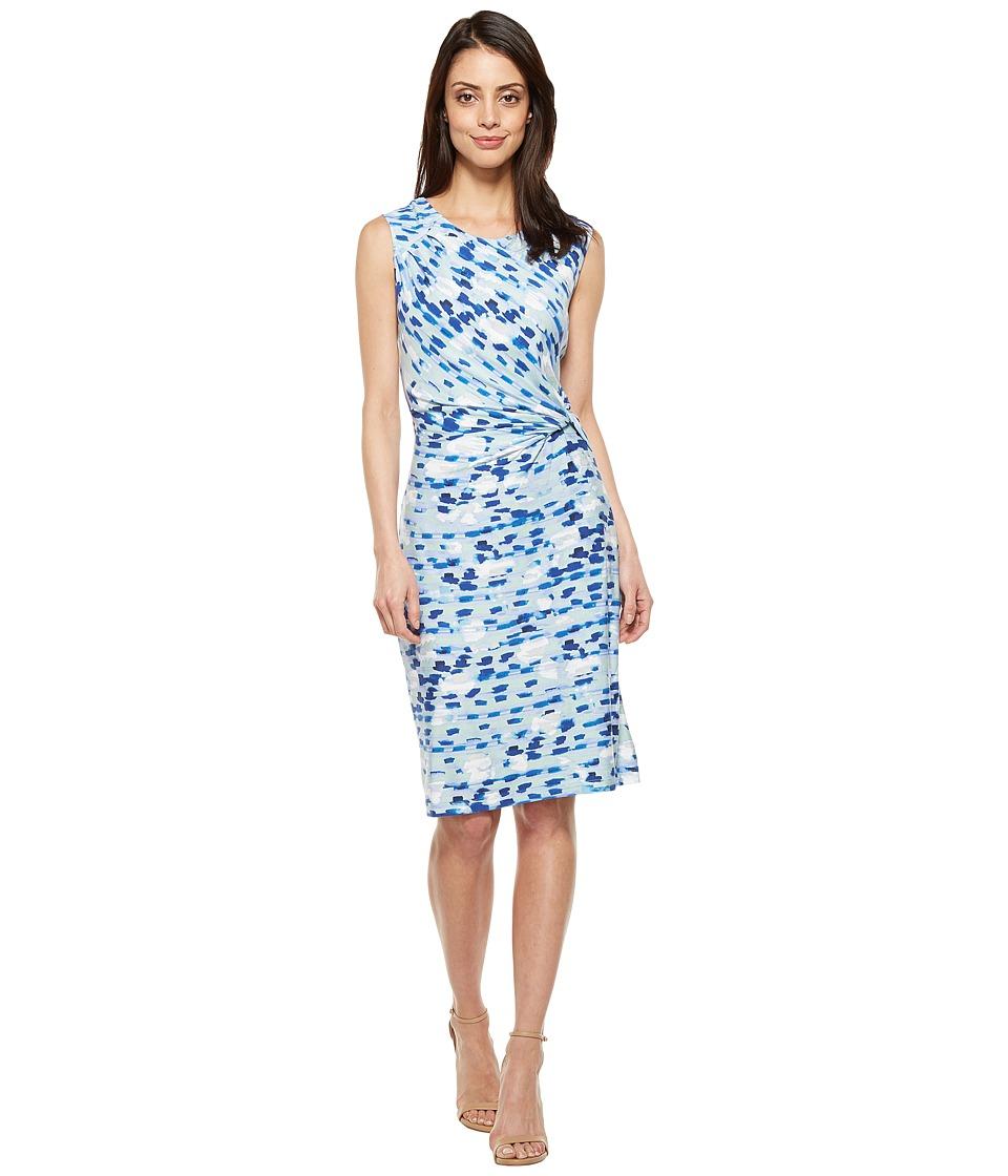 NIC+ZOE - Water Lane Twist Dress (Multi) Women's Dress