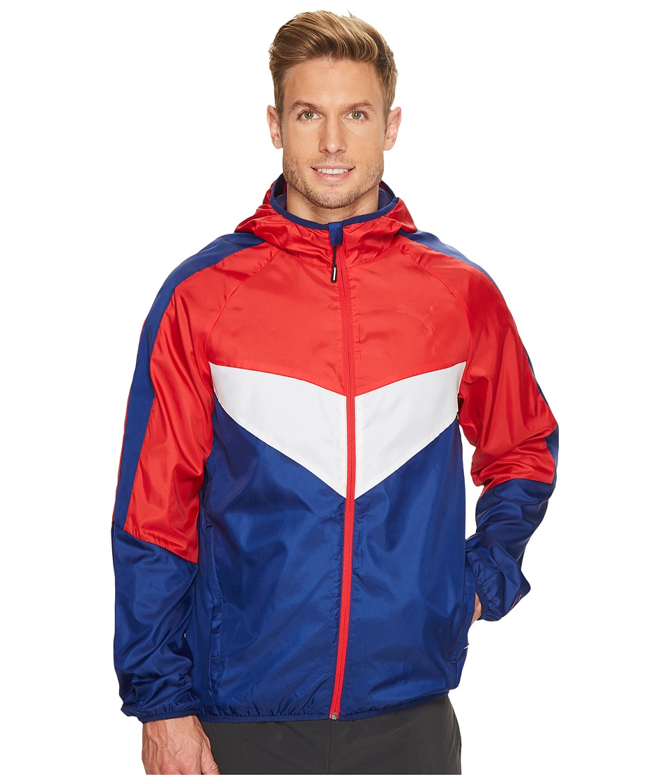 PUMA - Power Vent Windbreaker (Toreador) Men's Clothing
