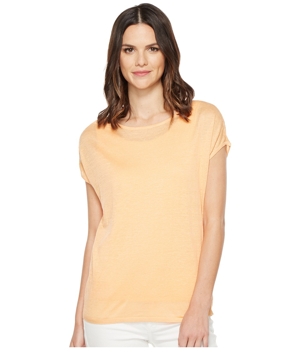 NIC+ZOE - Every Day Tissue Tee (Tangerine) Women's T Shirt