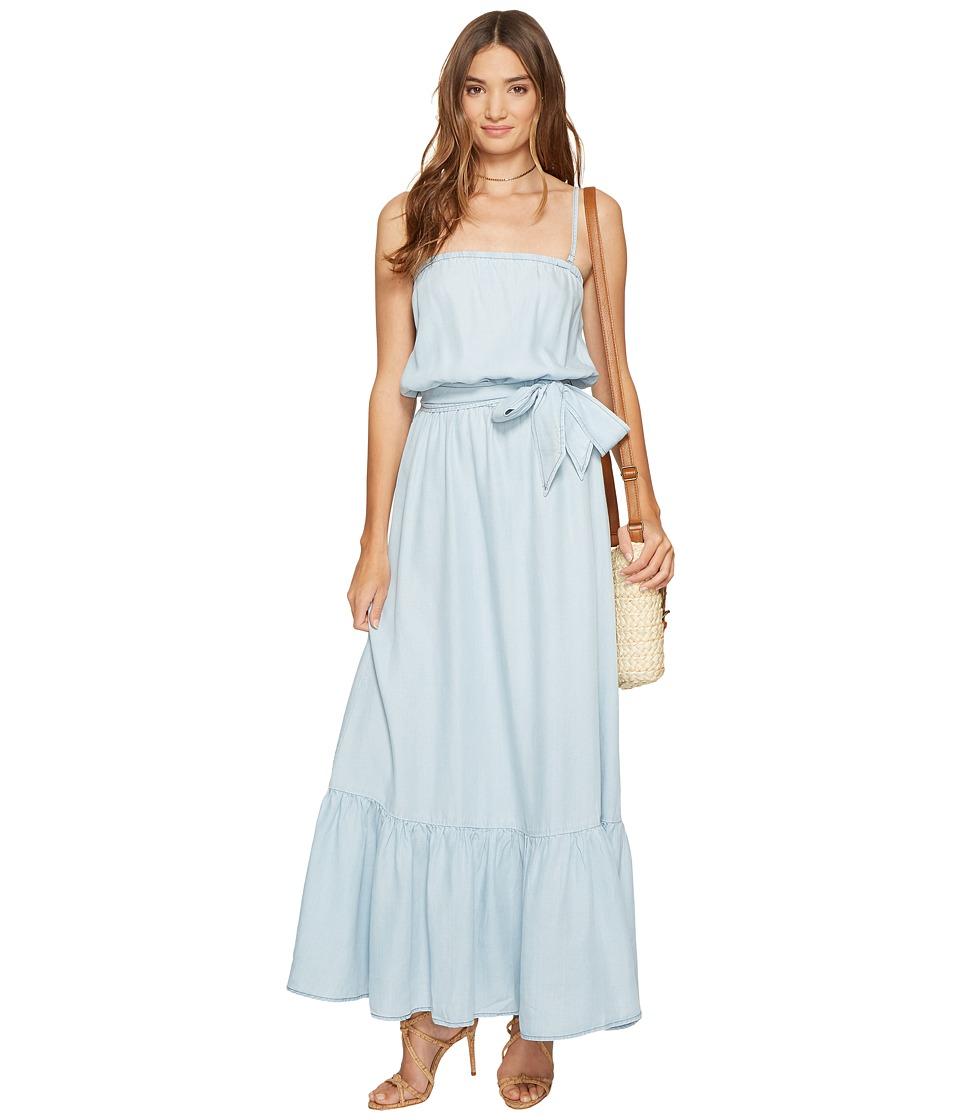 BB Dakota - Kate Chambray Maxi Dress (Light Blue) Women's Dress