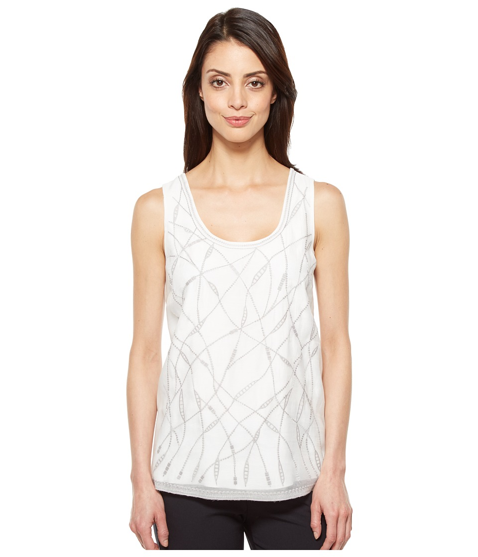 NIC+ZOE - White Sands Tank (Paper White) Women's Sleeveless