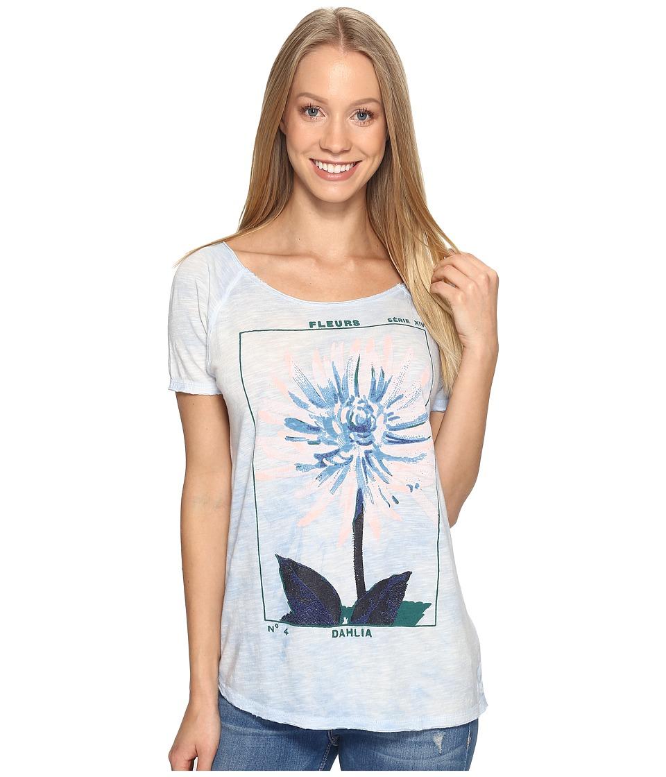 Lucky Brand - Dahlia Tee (Skyway) Women's T Shirt