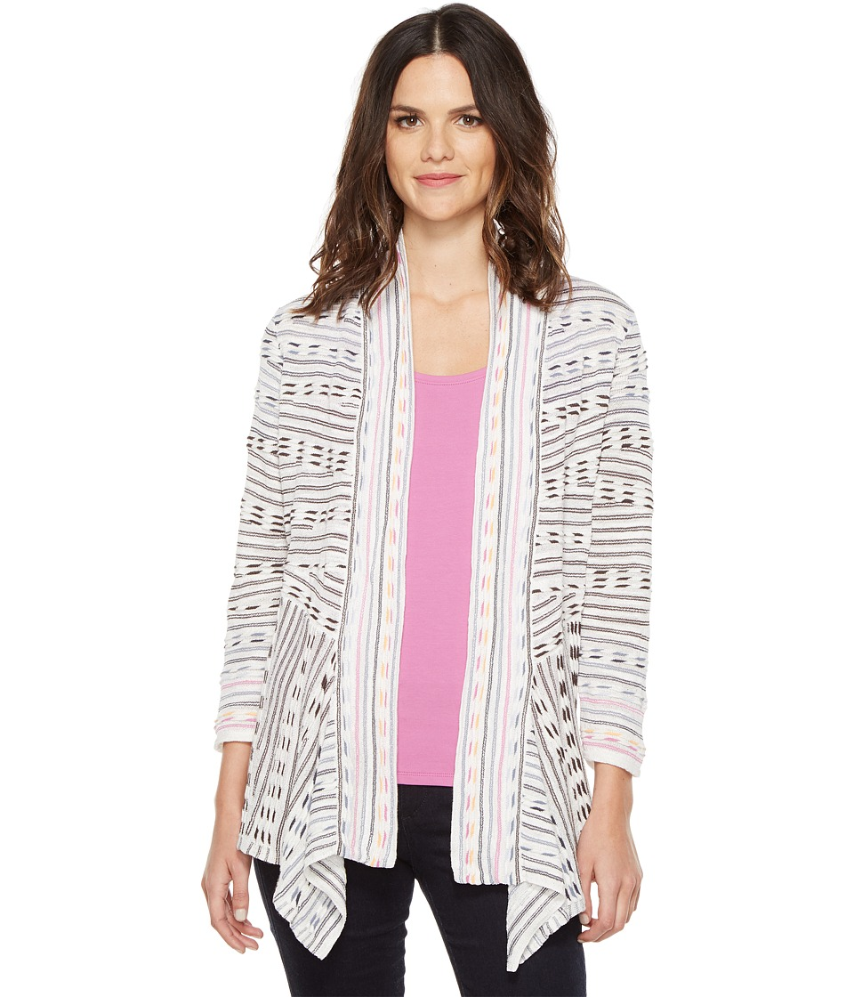 NIC+ZOE - Maze Meadows Cardy (Multi) Women's Sweater