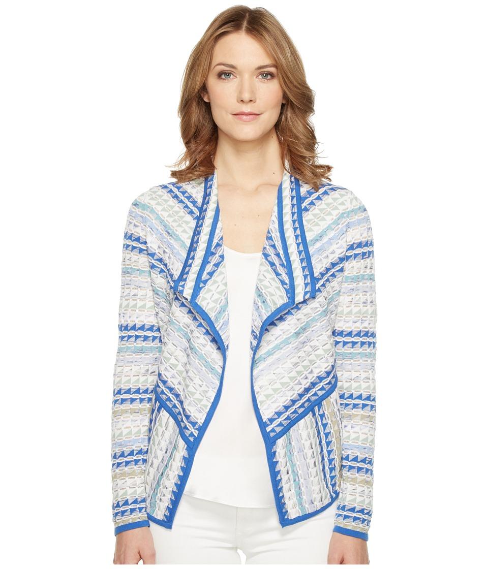 NIC+ZOE - Prism Stitch Cardy (Multi) Women's Sweater