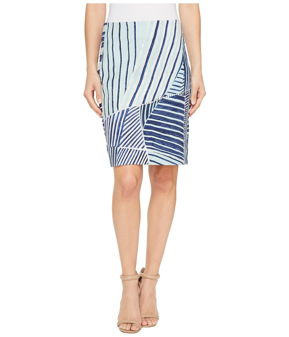 NIC+ZOE - Palm Leaf Skirt (Multi) Women's Skirt