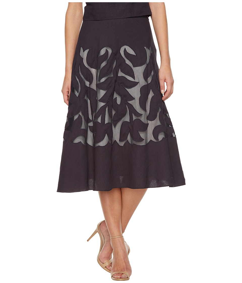 NIC+ZOE - Secret Garden Skirt (Midnight) Women's Skirt