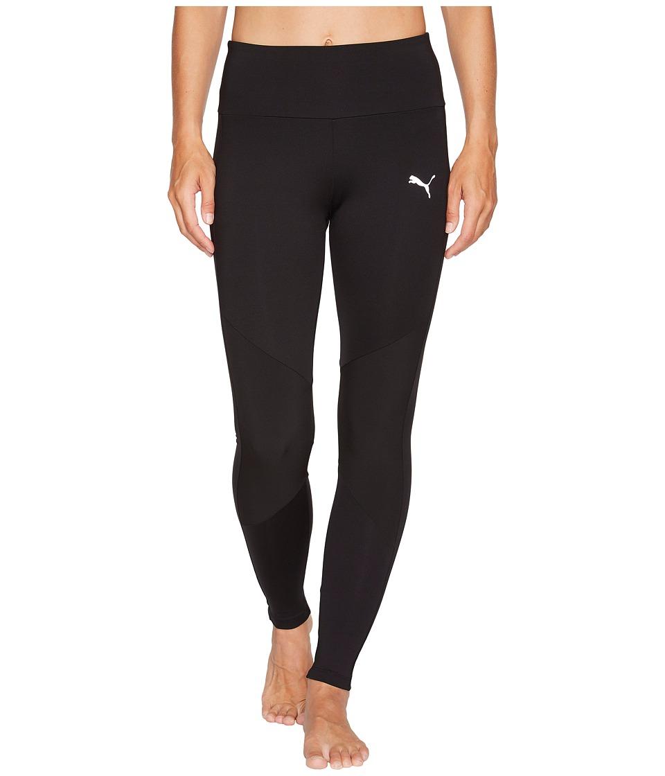 PUMA - Transition 7/8 Leggings (Black) Women's Casual Pants