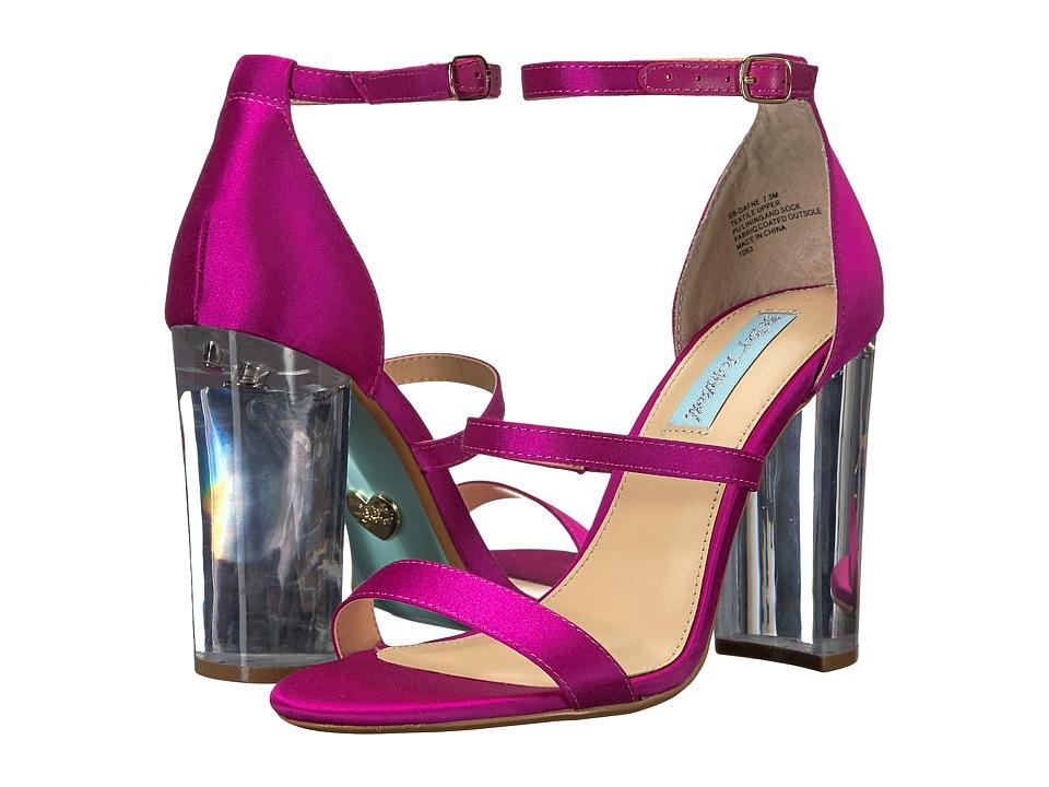 Betsey Johnson - Dafne (Raspberry) High Heels