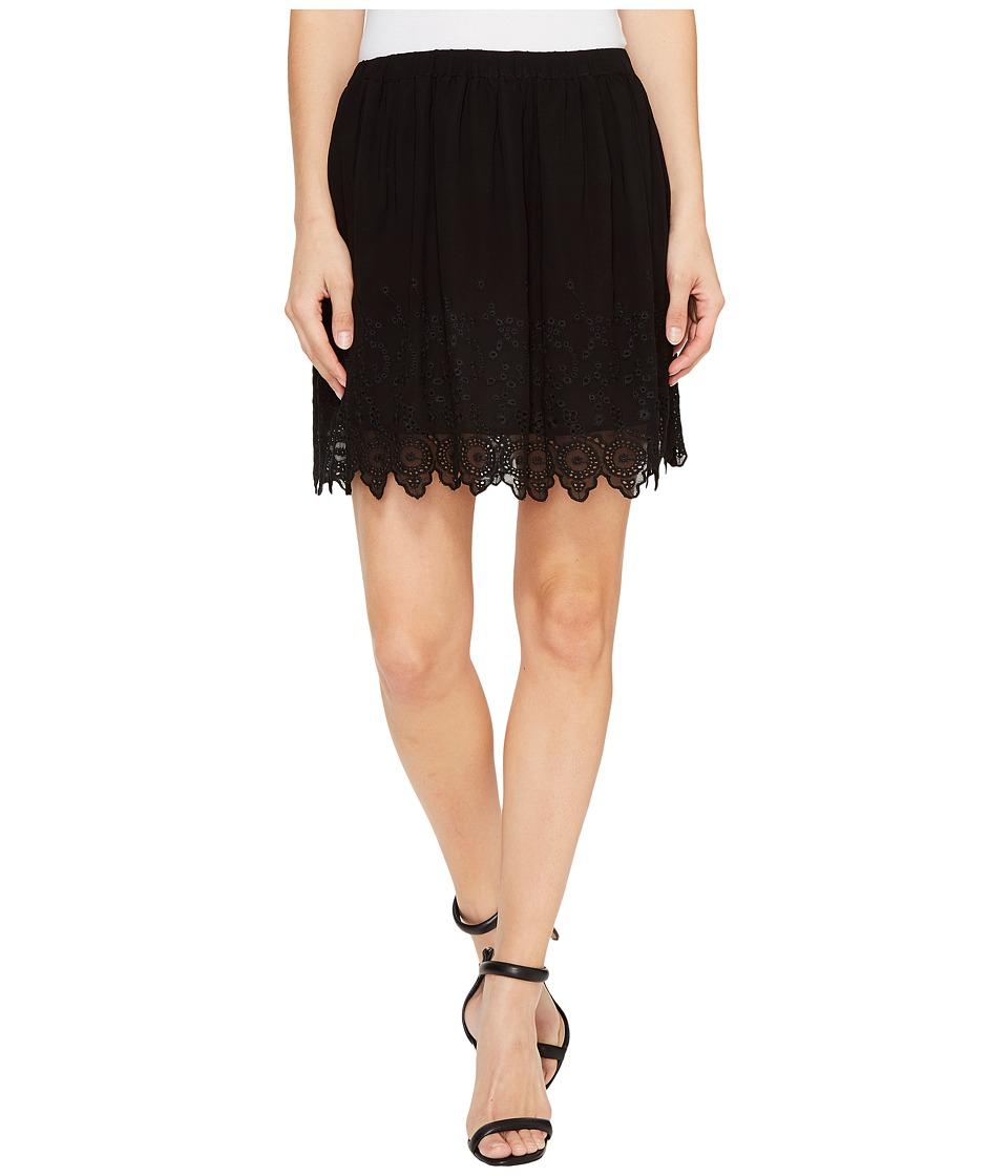 Lucky Brand - Black Lace Skirt (Jet Black) Women's Skirt