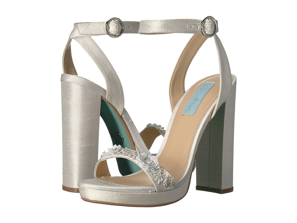 Blue by Betsey Johnson - Laken (Ivory) High Heels