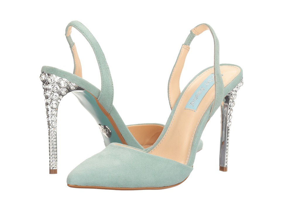 Blue by Betsey Johnson Leona (Blue) High Heels
