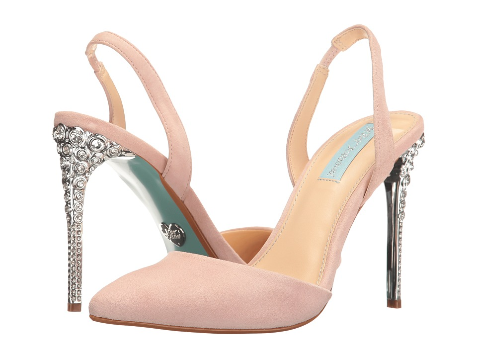Blue by Betsey Johnson Leona (Blush) High Heels