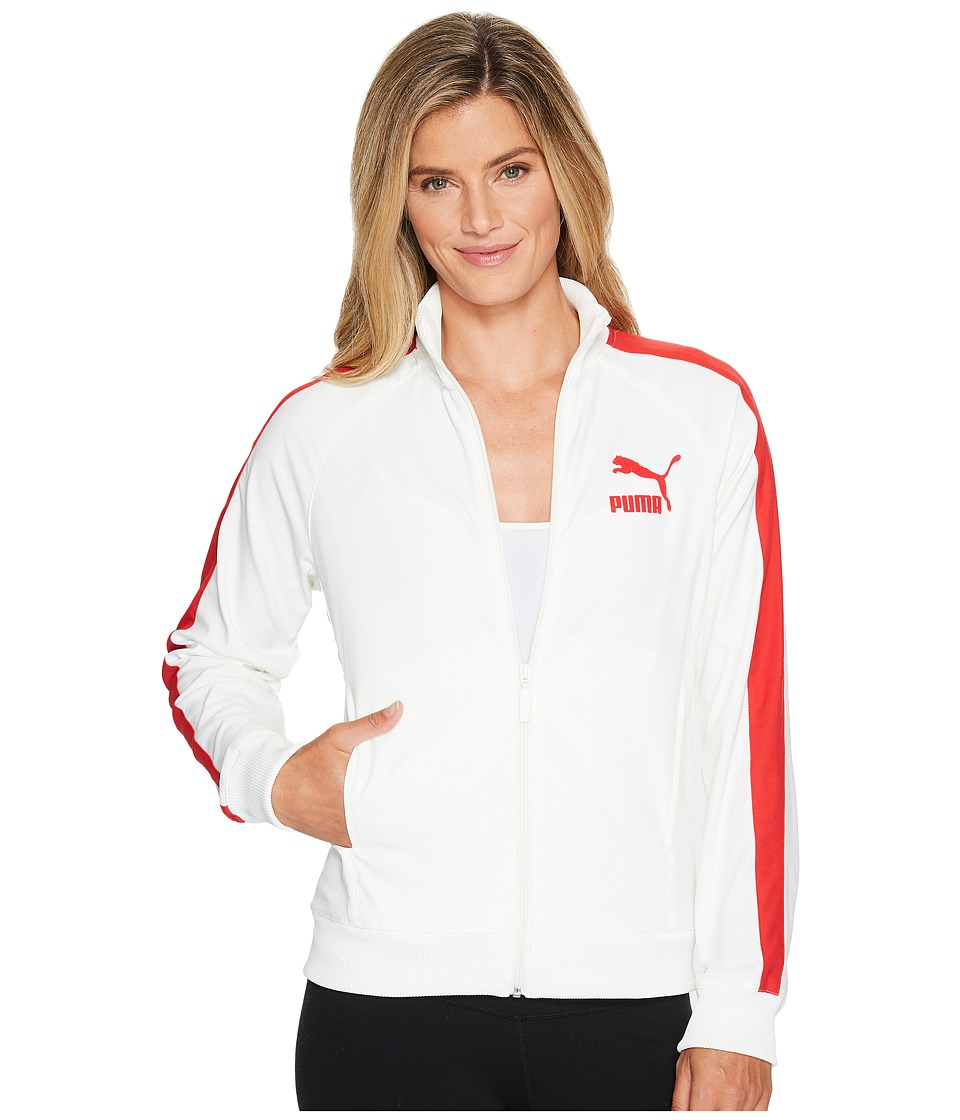 PUMA - True Archive T7 Track Jacket (Marshmallow) Women's Coat