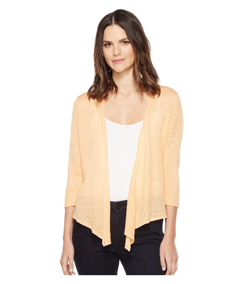 NIC+ZOE - 4 Way Lightweight Cardy (Tangerine) Women's Sweater