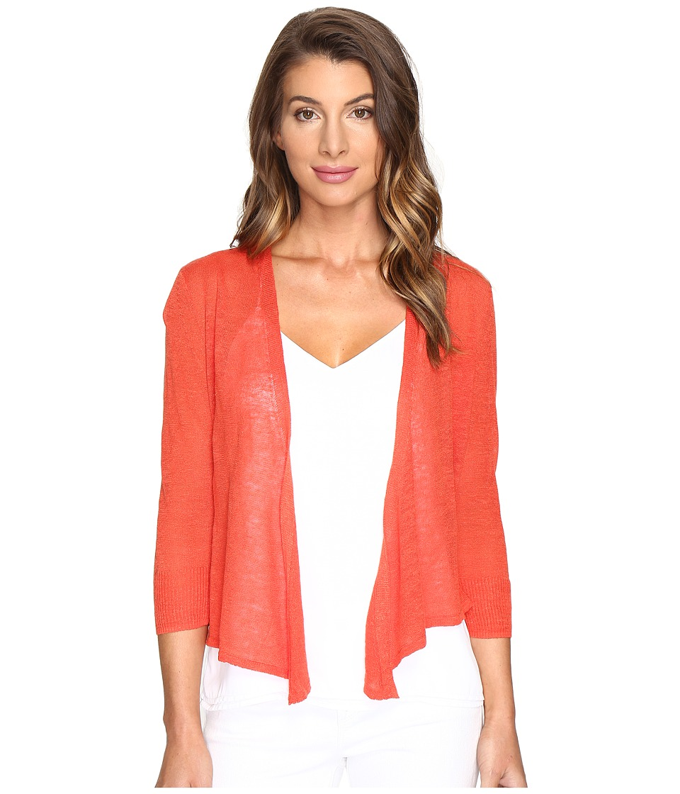 NIC+ZOE - 4 Way Lightweight Cardy (Cinnabar) Women's Sweater