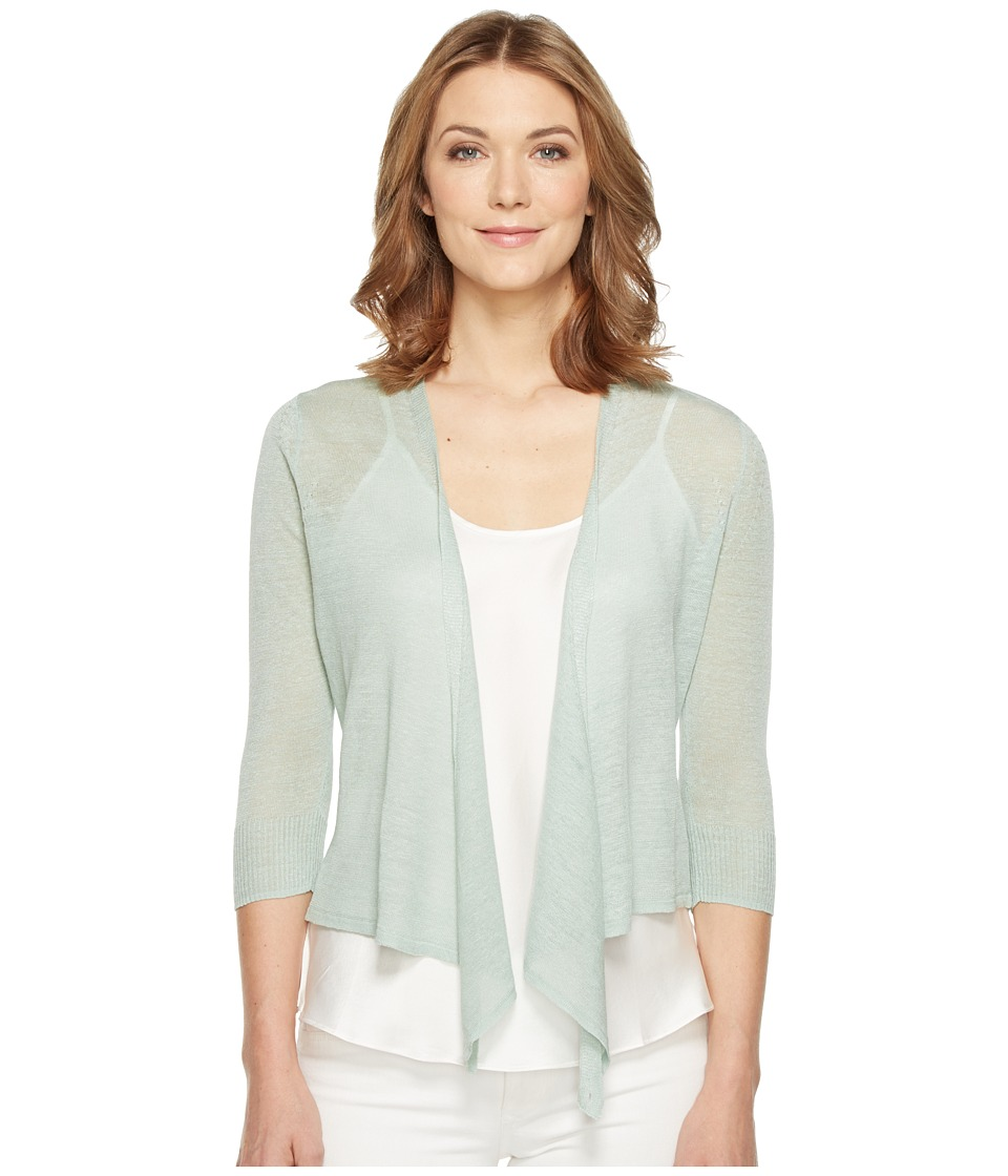 NIC+ZOE - 4 Way Lightweight Cardy (Pistachio) Women's Sweater