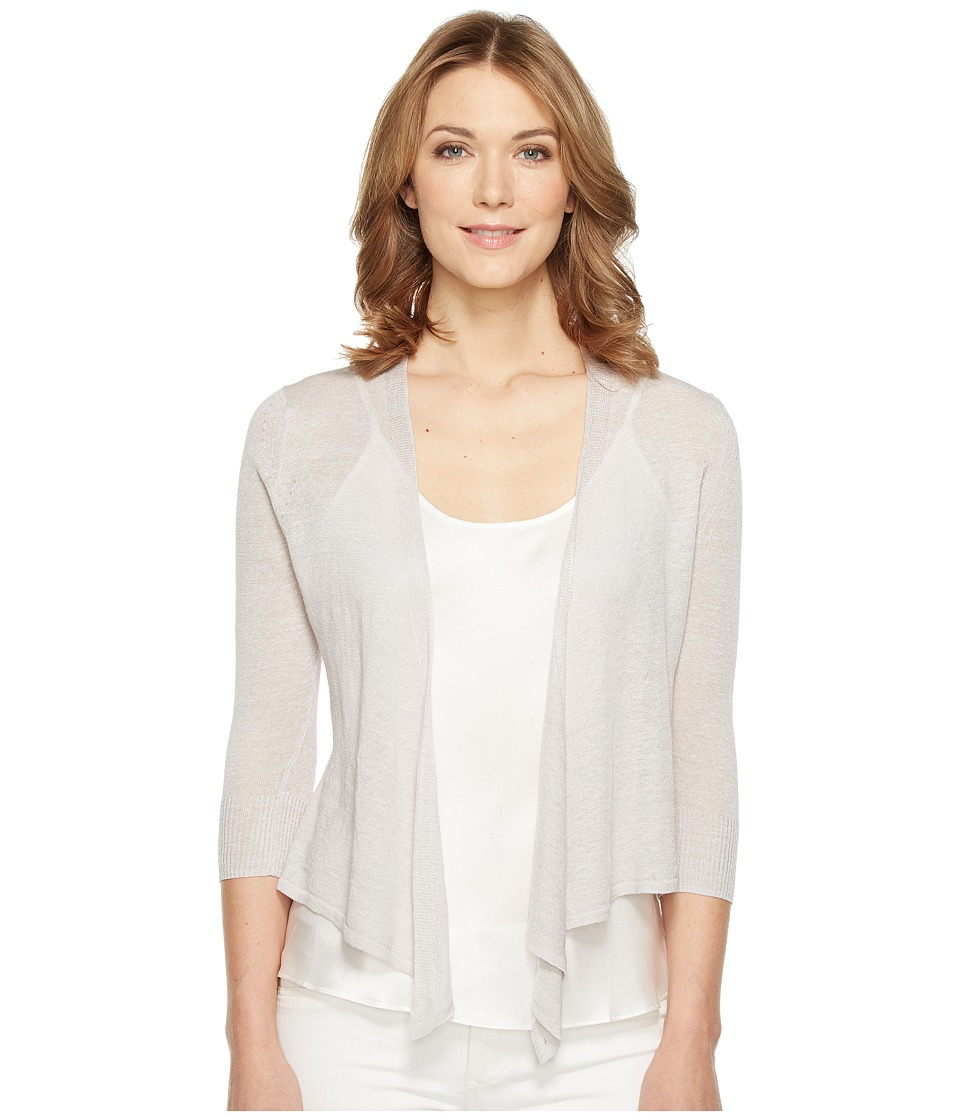 NIC+ZOE - 4 Way Lightweight Cardy (Smoke) Women's Sweater