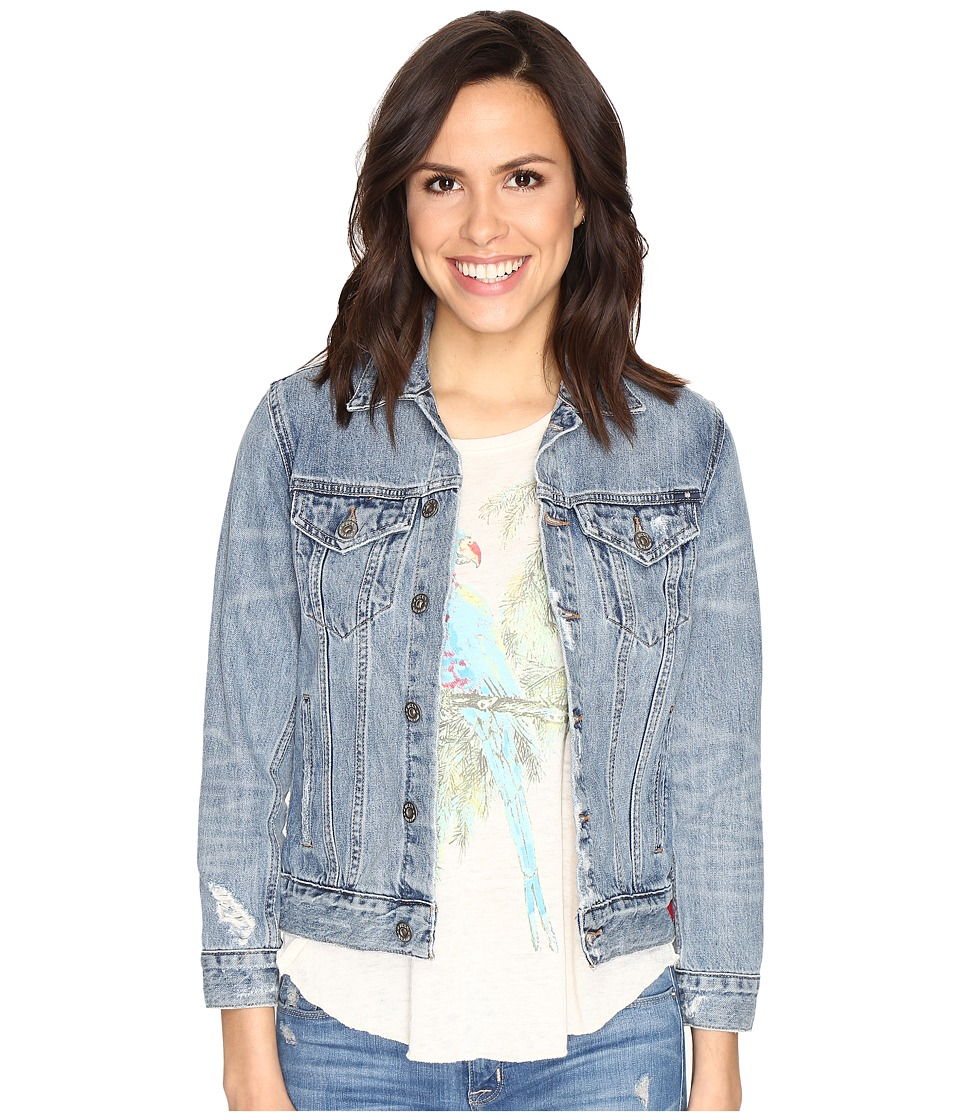 Lucky Brand - Tomboy Trucker Jacket (Watchtower) Women's Coat