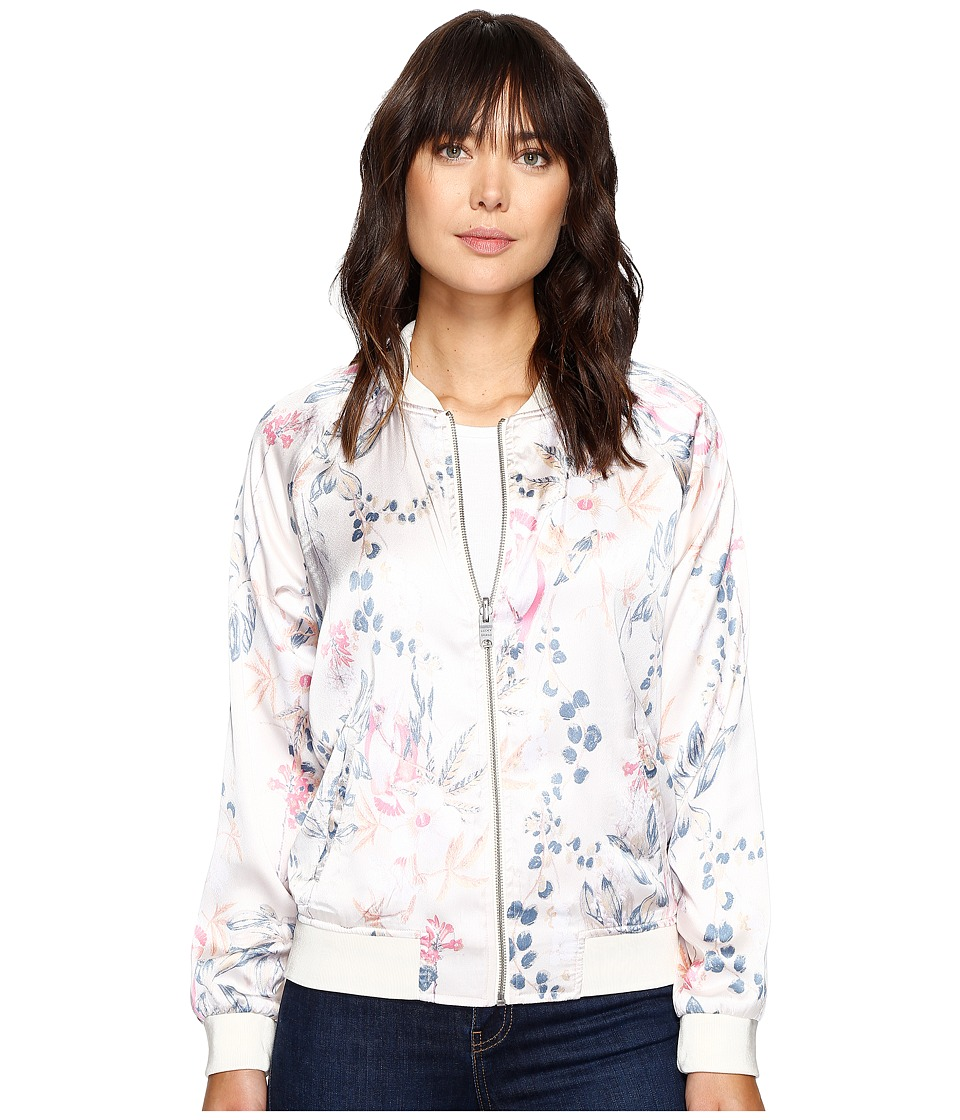 Lucky Brand - Botanical Jacket (Eggshell Multi) Women's Coat