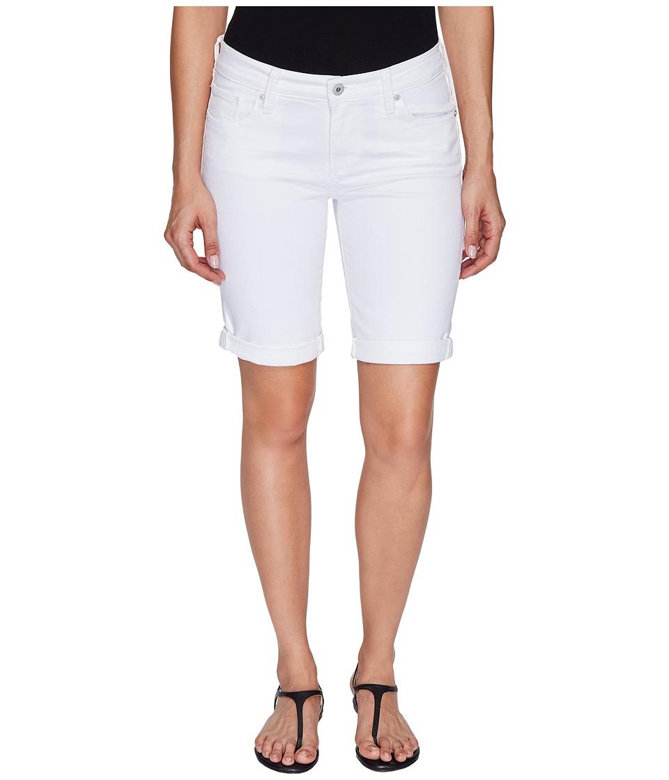 Lucky Brand The Bermuda Shorts in White Cap (White Cap) Women