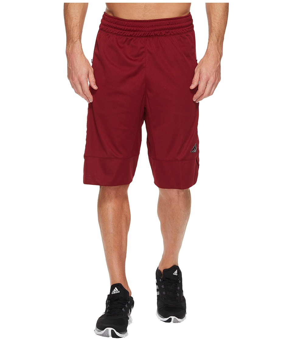 adidas - Essentials Shorts 2 (Collegiate Burgundy) Men's Shorts