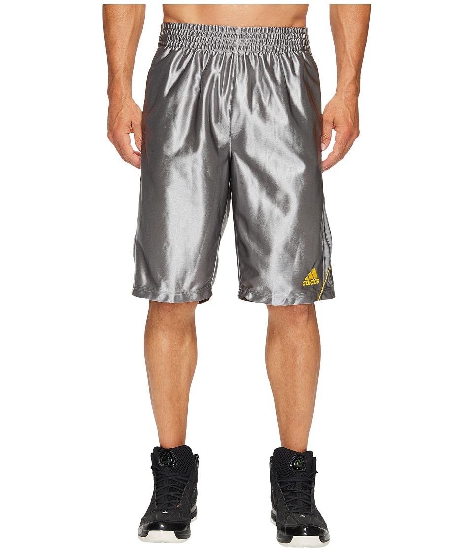 adidas - FDTN Dazzle Shorts (Grey 3) Men's Shorts