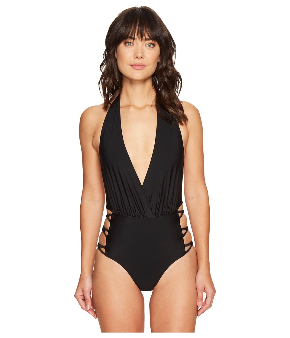 6 Shore Road by Pooja - Love One-Piece (Black Rock) Women's Swimsuits One Piece