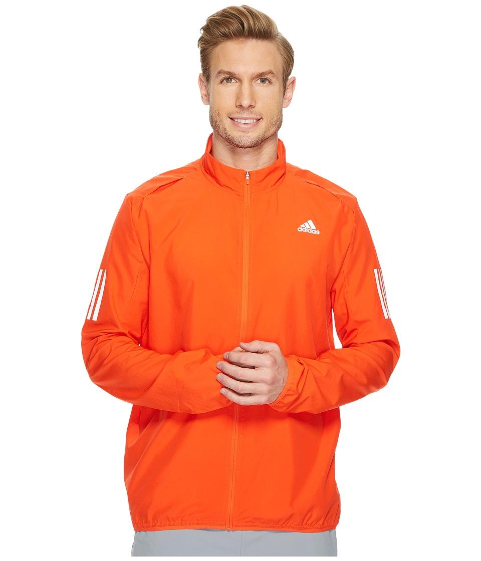 adidas - Response Wind Jacket (Energy/Energy) Men's Coat