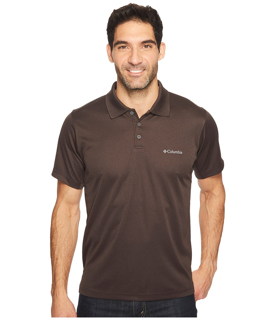 Columbia - New Utilizertm Polo (New Cinder Heather) Men's Short Sleeve Pullover