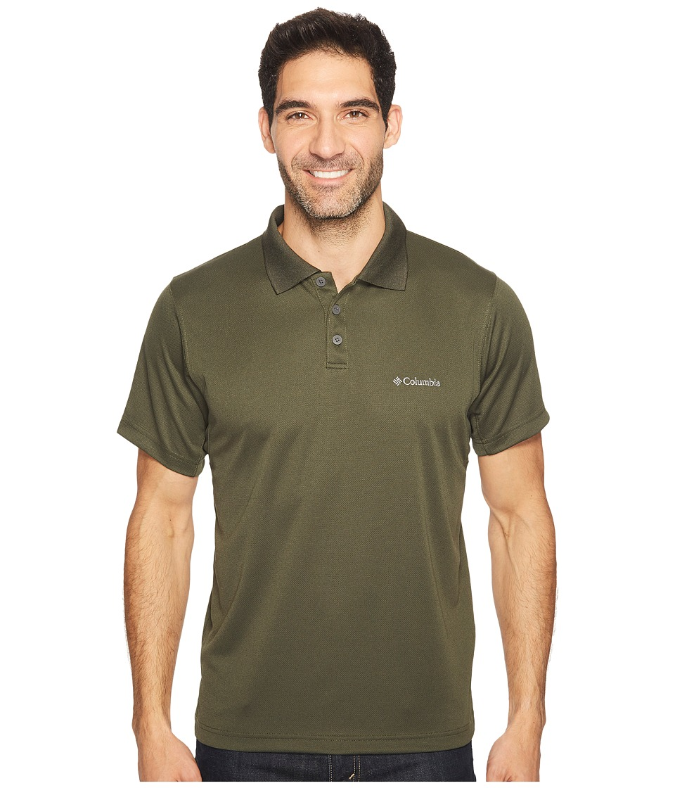 Columbia - New Utilizer Polo (Surplus Green Heather) Men's Short Sleeve Pullover