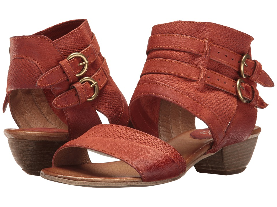 Miz Mooz - Cyrus (Rust) Women's Sandals