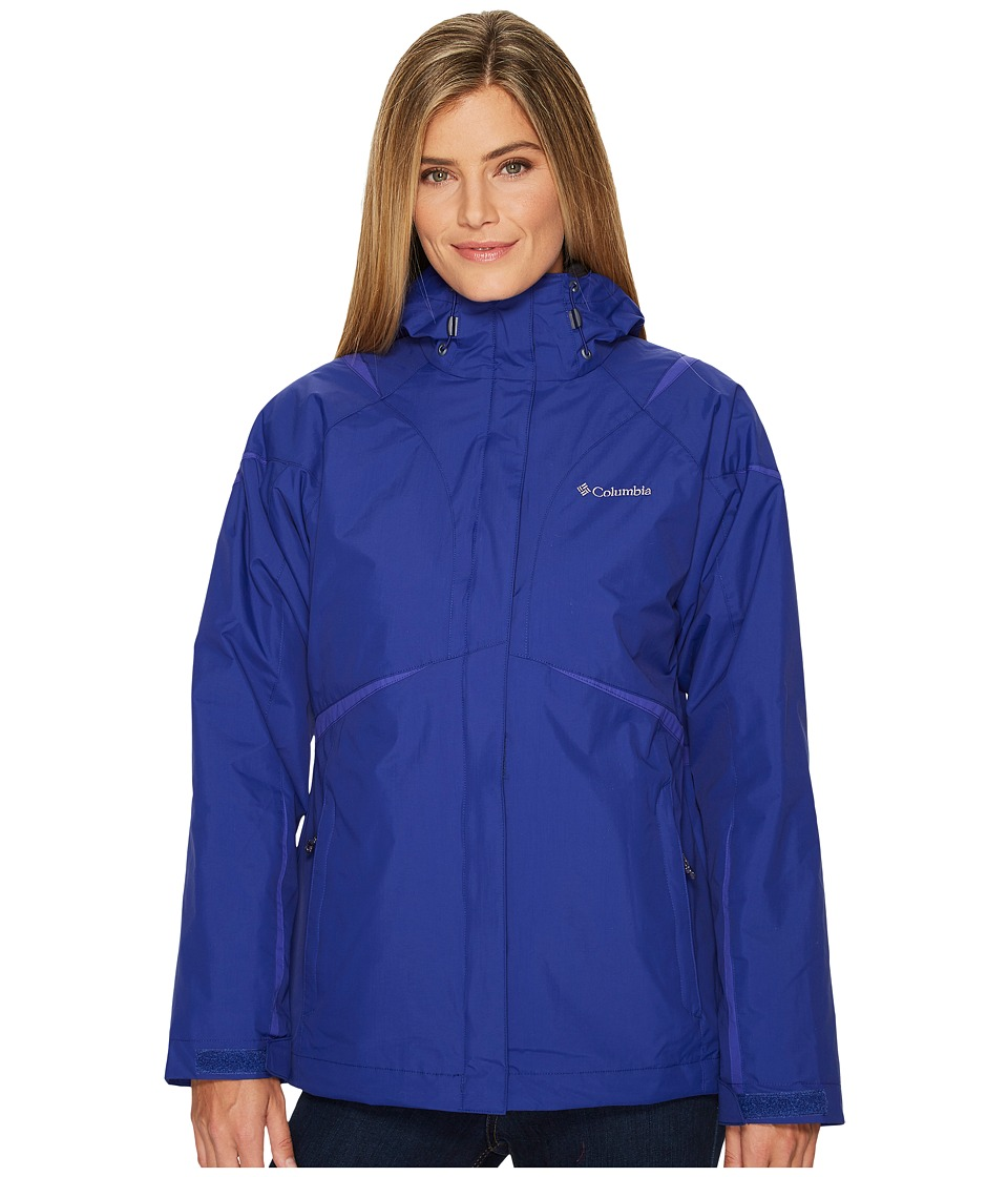 Columbia Blazing Star Interchange Jacket (Dynasty/Clematis Blue) Women