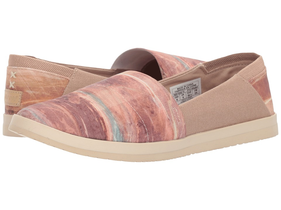 Reef - Rose TX (Natural Stone) Women's Slip on Shoes