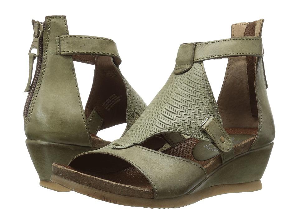 Miz Mooz - Maisie (Sage) Women's 1-2 inch heel Shoes