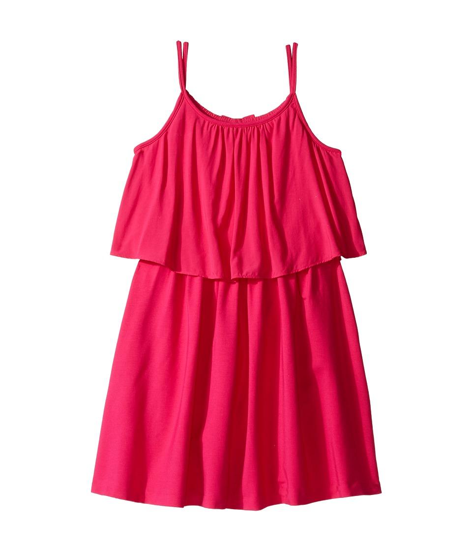 Polo Ralph Lauren Kids - Cotton Solid Dress (Little Kids/Big Kids) (Pink) Girl's Dress