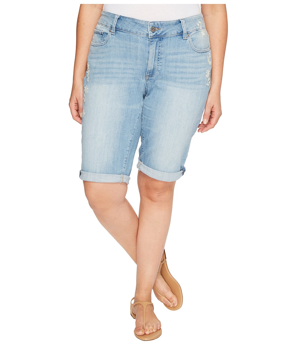 Lucky Brand Plus Size Ginger Bermuda Shorts in Withered (Withered) Women