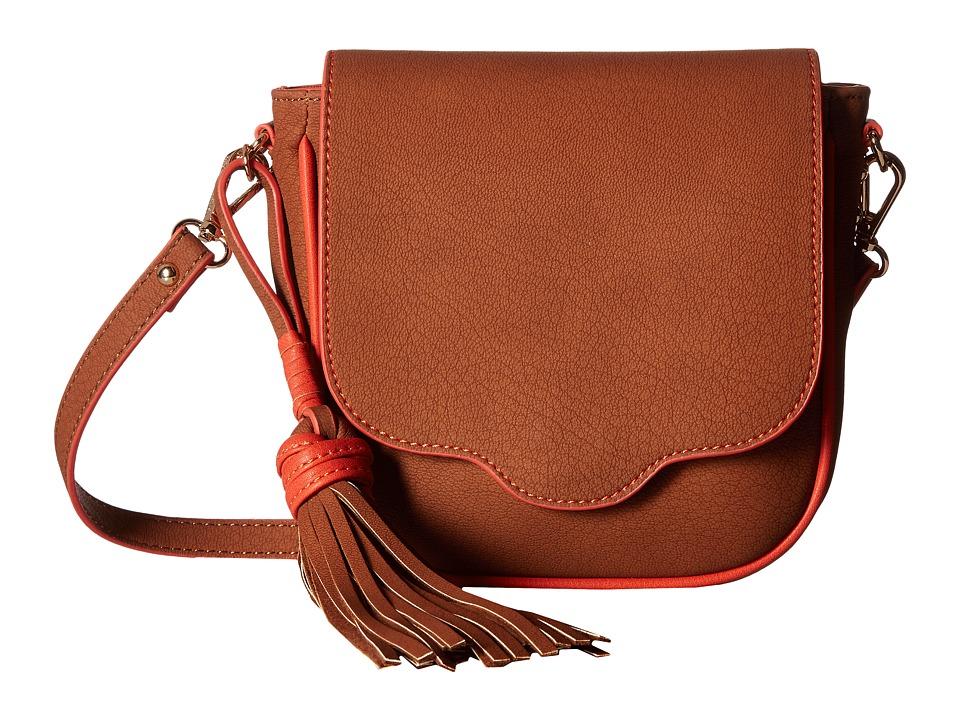 Steve Madden - Brobbins (Cognac) Handbags