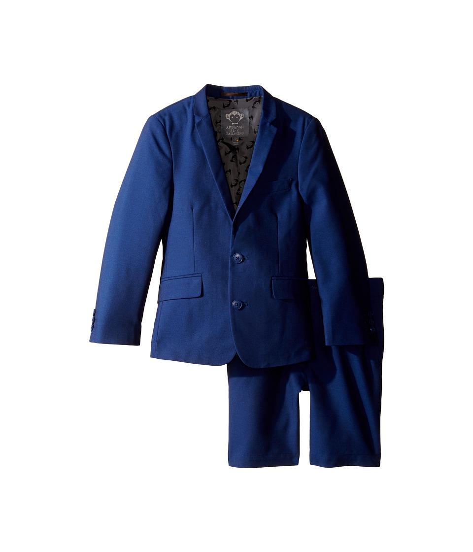 Appaman Kids - Mod Suit Set Shorts (Toddler/Little Kids/Big Kids) (Deep Cobalt) Boy's Suits Sets