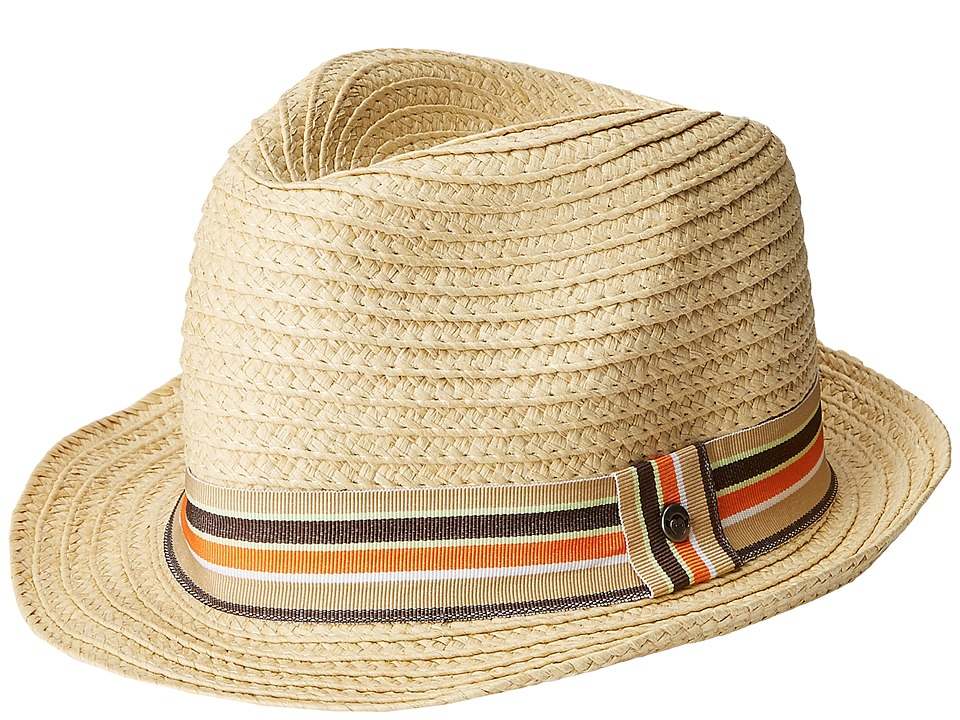Appaman Kids - Houston Fedora (Infant/Toddler/Little Kids/Big Kids) (Natural) Fedora Hats
