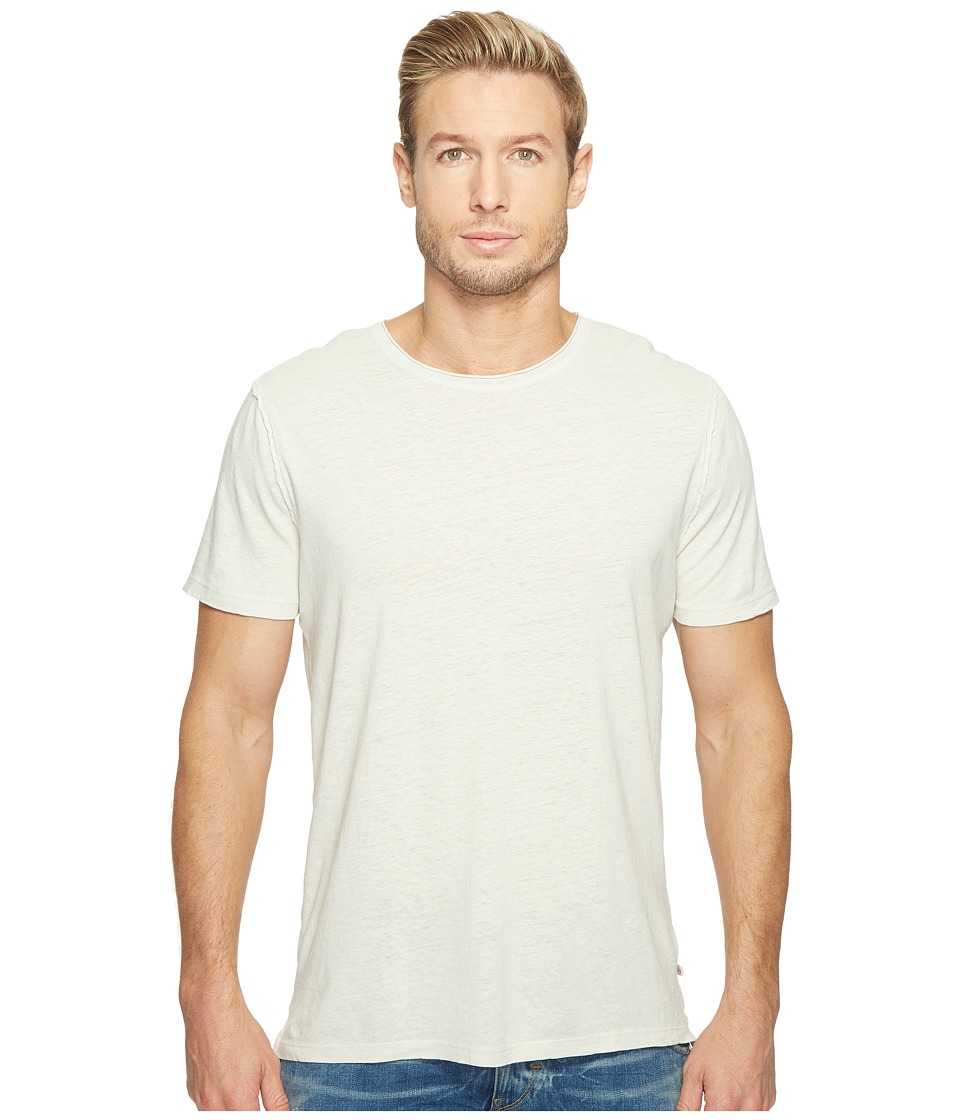 AG Adriano Goldschmied - Theo Short Sleeve Crew (Pigment Anchor Grey) Men's Clothing