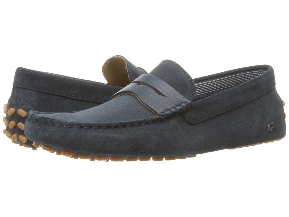 Lacoste - Concours 18 (Navy) Men's Shoes