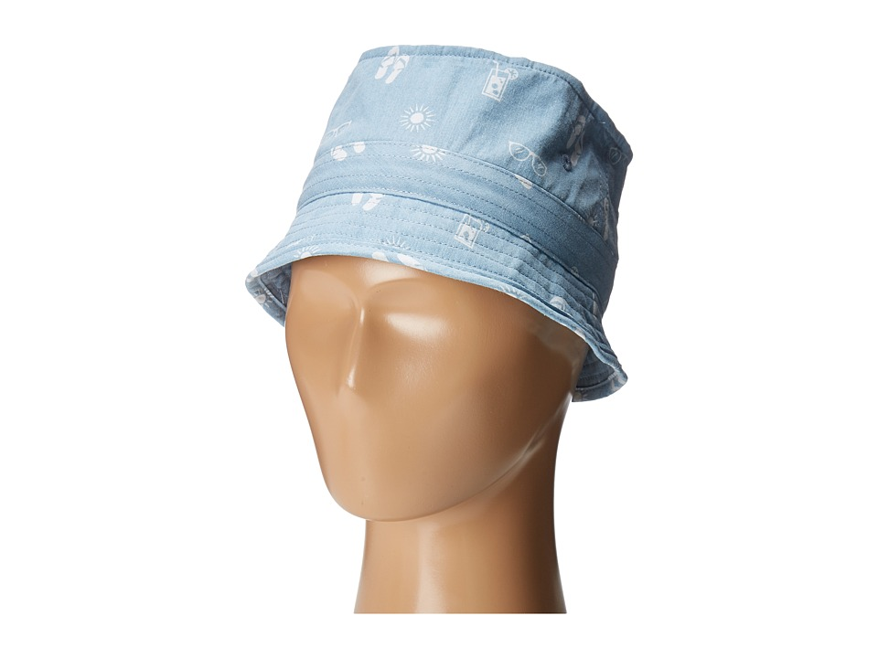 Appaman Kids - Fisherman Hat (Infant/Toddler/Little Kids/Big Kids) (Light Blue Chambray) Caps